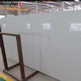 Brame agglomérée artificielle blanche de pierre de quartz d'étincelle populaire