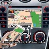 オンラインGoogle/Wazeのマップを持つマツダ6のためのアンドロイド5.1 GPSの運行ボックス