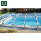 Bâche de piscine imperméable et une résistance au vent