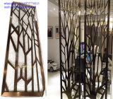 Hotel-InnenEdelstahl-Bildschirm-Raum-Teiler-Partition-Metalltür