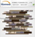 美しいアルミニウムガラスモザイク販売を使用してホテルのBacksplashの卸し売り壁