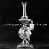 Tipo Shining tubulação do girador de água de vidro da plataforma petrolífera da tubulação do reciclador (que brilha 022)