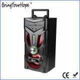 Altifalante de karaoke de madeira no alto-falante Bluetooth portátil de boa qualidade (XH-PS-710)