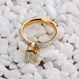 2017新しい方法新しい到着の金の指輪の宝石類のステンレス鋼