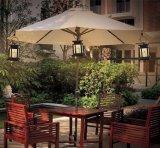Jardin lumière LED haute efficacité parapluie lampe Lanterne solaire