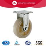 Hochleistungs-pp.-industrielle Fußrolle mit seitlicher Bremse