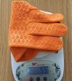 Feste Belüftung-Sicherheits-Baumwollarbeits-Handschuhe mit Gummigriff-Punkten