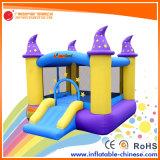 Aufblasbares Spielzeug-springendes Prahler-Schloss mit Plättchen (T1-050)