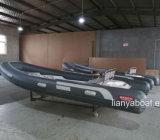 Barca gonfiabile della nervatura del fornitore della barca di gomma di Liya 4.3m