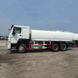 도로 세탁기술자 Sinotruck HOWO 20cbm 6*4 물 탱크 트럭