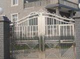 فولاذ أمن باب مع صنع وفقا لطلب الزّبون حارّ يغلفن [ورووغت يرون] بوّابة سياج بوّابة