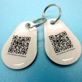 관례 HF 수동적인 13.56MHz ISO14443A NTAG216 에폭시 NFC RFID 꼬리표