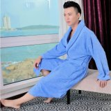 선전용 100%년 면 테리 호텔 또는 홈 평야에 의하여 염색되는 욕의 또는 잠옷 또는 잠옷