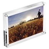Selbst-Konzipierter Fertigkeit-Acrylkühlraum-Magnet-Foto-Rahmen