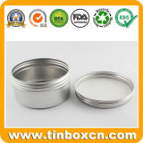 il balsamo di orlo di alluminio 15ml inscatola il vaso crema cosmetico