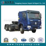 De Vrachtwagen van de Tractor van Sinotruk HOWO 6X4 met 336, 371, 420 PK