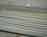 Material reforzado y deformido del acero de carbón de la barra de acero de construcción