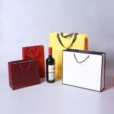 Sacos de compra feitos sob encomenda extravagantes para o vinho/presente/Festerval