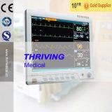 Carretilla multi médica del monitor paciente del parámetro de Thr-Pm900e