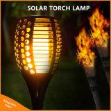 2017 tanzendes flackerndes Fackel-Solarlicht der Flamme-Beleuchtung-Lampen-96LED