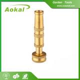Ugello durevole ambientale d'ottone del tubo flessibile dello spruzzo d'acqua del getto dell'ugello migliore