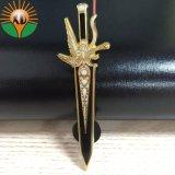 Nuevo estilo de la Espada de metal esmaltado duro Zanarkand insignia de solapa