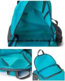 L'eau voyageant sac à dos en nylon résistant de pliage double sac en bandoulière