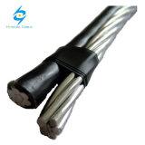 Cable aislado de ABC Aluminio Servicio de Cable de 2*16