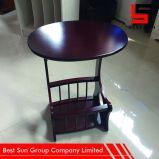 Gloss mesa de café, mesas de canto com Rodas