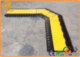 5つのチャネルゴム製ケーブルカバーケーブルの傾斜路の保護装置