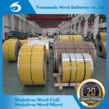 2b/Ba tira de la bobina del acero inoxidable de la superficie 202 Hr/Cr