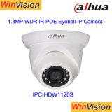 Macchina fotografica Ipc-Hdw1120s del IP della rete del bulbo oculare di compressione 1.3MP IR di Dahua H. 264