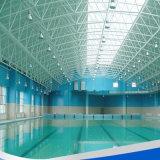 La estructura de acero utilizó la piscina, edificio de la estructura de acero del aislante