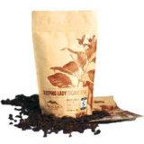 Bolsitas de té de los bolsos de café del escudete de la cara de la muestra libre con valle