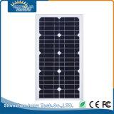 IP65 10W de la calle al aire libre jardín de la luz de calle solar integrada