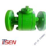 Válvula de Esfera de flange em aço forjado/Manual/Wormgear/Electric
