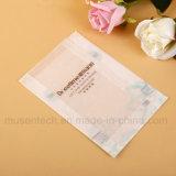 Bolsas de papel semi transparentes imprimibles de Brown pequeñas para el alimento