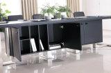직업적인 디자인 오피스 PVC 가죽 테이블 (E2)