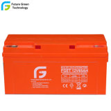 Cycle de profonde 12V 65Ah batterie plomb-acide pour système d'alimentation solaire