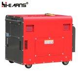 Groupe électrogène diesel de cylindre simple refroidi à l'air triphasé (DG6500SE)