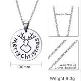 Поощрение подарок моды из нержавеющей стали надписи ожерелья Ювелирные изделия