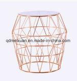철사 금속 탁자 Compang 베스트셀러 글로벌 공급 금에 의하여 도금되는 완료 금속 철 차 공장 (M-X3701)
