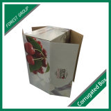 Rectángulo de empaquetado de la laminación de la cereza brillante del papel acanalado