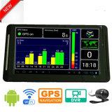 """Nouveau tableau de bord voiture camion Marine Navigation GPS avec 7.0 """" Android6.0 DVR de voiture GPS, transmetteur FM, AV-in pour le stationnement de la caméra système GPS Navigator, TMC Appareil de suivi"""