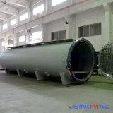 autoclave de borracha certificada ASME de Vulcanizating da automatização cheia do aquecimento de vapor de 2800X8000mm