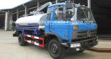 Dongfeng 4X2 비용 효과적인 8000 적은 찌끼 진공 흡입 유조 트럭