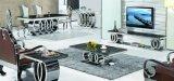 現代ロゴのステンレス鋼のコンソールテーブルの側面表の端表の食堂の居間の家具