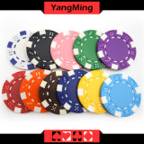 11.5g - Chip-nach Maß verschiedene Farben-Kasino-Chips des Lehm-32g/des Schürhakens mit Aufkleber oder kann Firmenzeichen (YM-CP024-25) drucken
