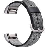 까만 나일론 악대 Charge2를 위한 최신 판매 나일론 손목 시계 보충 악대를 기울기
