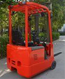 Mini Forklift pequeno do armazém caminhão de Forklift elétrico de 1 tonelada 3-Wheel